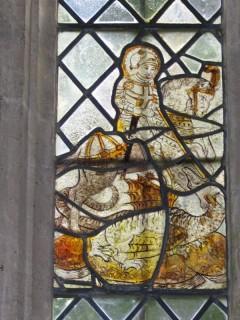 St George and the Dragon, I 2b, St George's Church, Kelmscott (Oxon.).