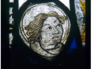 Fig .1. Head of unknown figure, from the Church of Laneast St Sidwell and St Gulvat