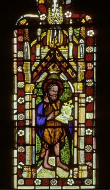 St John the Baptist, c, 1334, church of St Wilfred, Grappenhall, Cheshire. © Gordon Plumb.