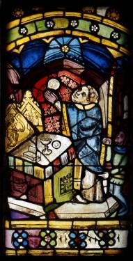 Fig. 1. Elevation of the host. Nuremberg, St Martha, choir, I 2b. (Rüdiger Tonojan, CVMA Freiburg)